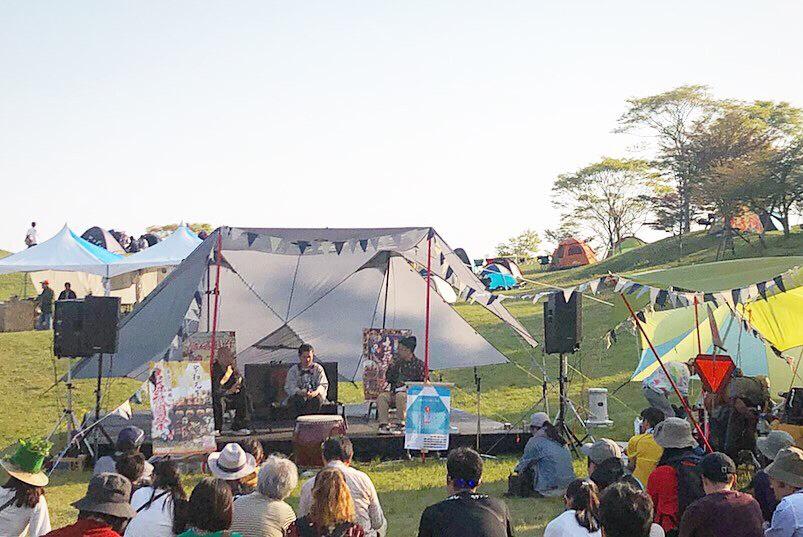 先日のFUJI&SUN'19で行われたトークの様子